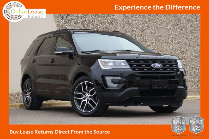 Ford Explorer 2017 Lease >> Used 2017 Ford Explorer Sport In Dallas
