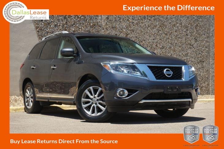 2014 Nissan Pathfinder SL - Dallas Lease Returns