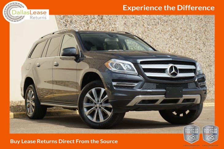 2014 Mercedes Benz Gl 450 Suv Dallas Lease Returns