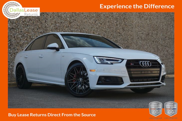 Used 2018 Audi S4 Prestige In Dallas