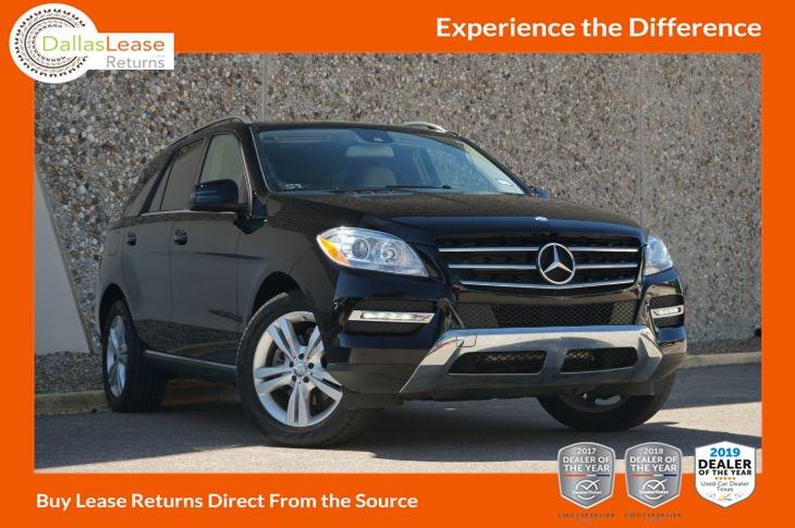 2015 Mercedes-Benz ML 350 SUV - Dallas Lease Returns