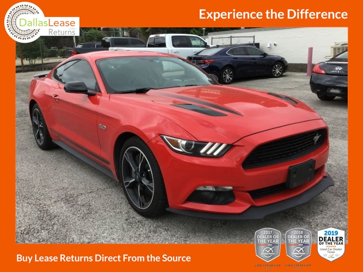 Ford Mustang Lease >> Used 2016 Ford Mustang Gt Premium In Dallas