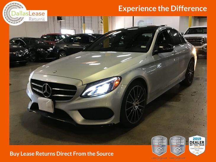 2016 Mercedes-Benz C 300 4MATIC Luxury Sedan - Dallas Lease Returns