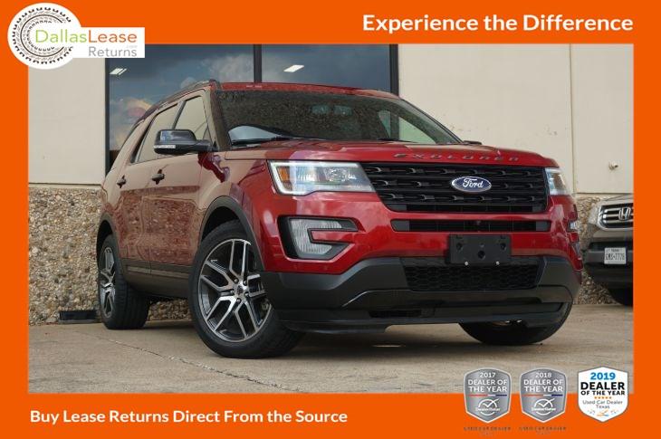 Ford Explorer 2017 Lease >> 2017 Ford Explorer Sport Dallas Lease Returns