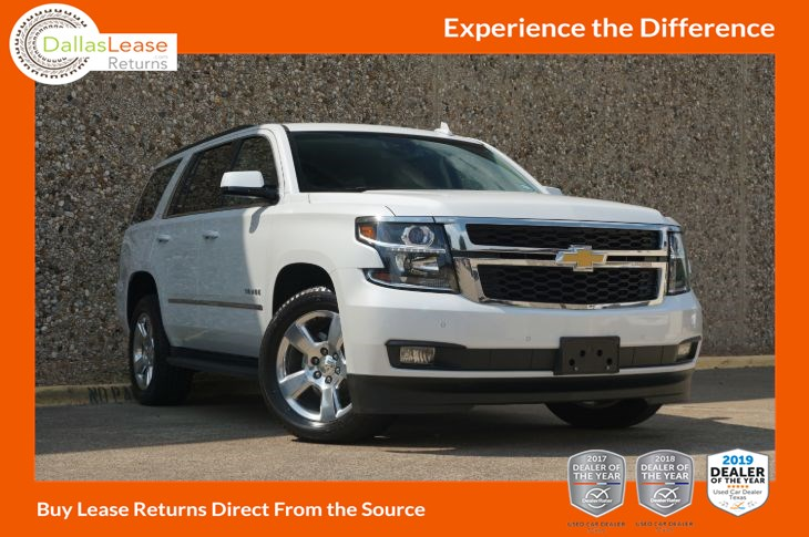 Chevy Dealership Dallas Tx >> 2016 Chevrolet Tahoe Lt Dallas Lease Returns