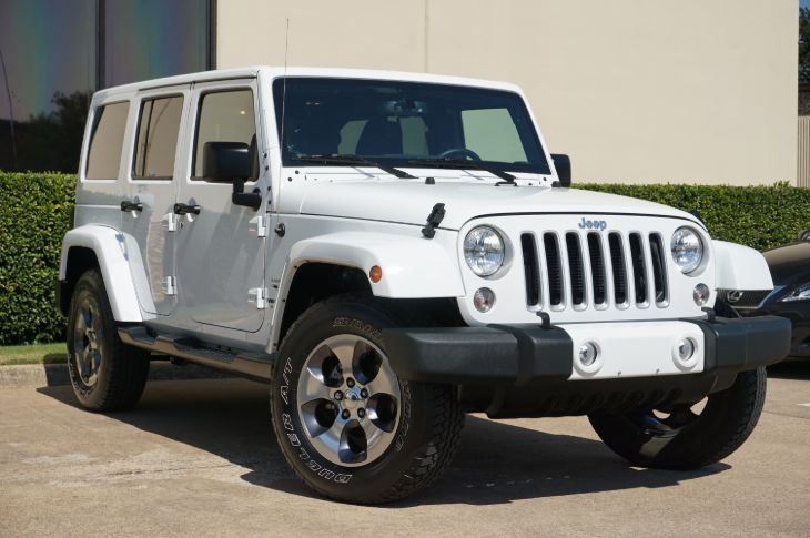 Used 2016 Jeep Wrangler Unlimited Sahara In Dallas