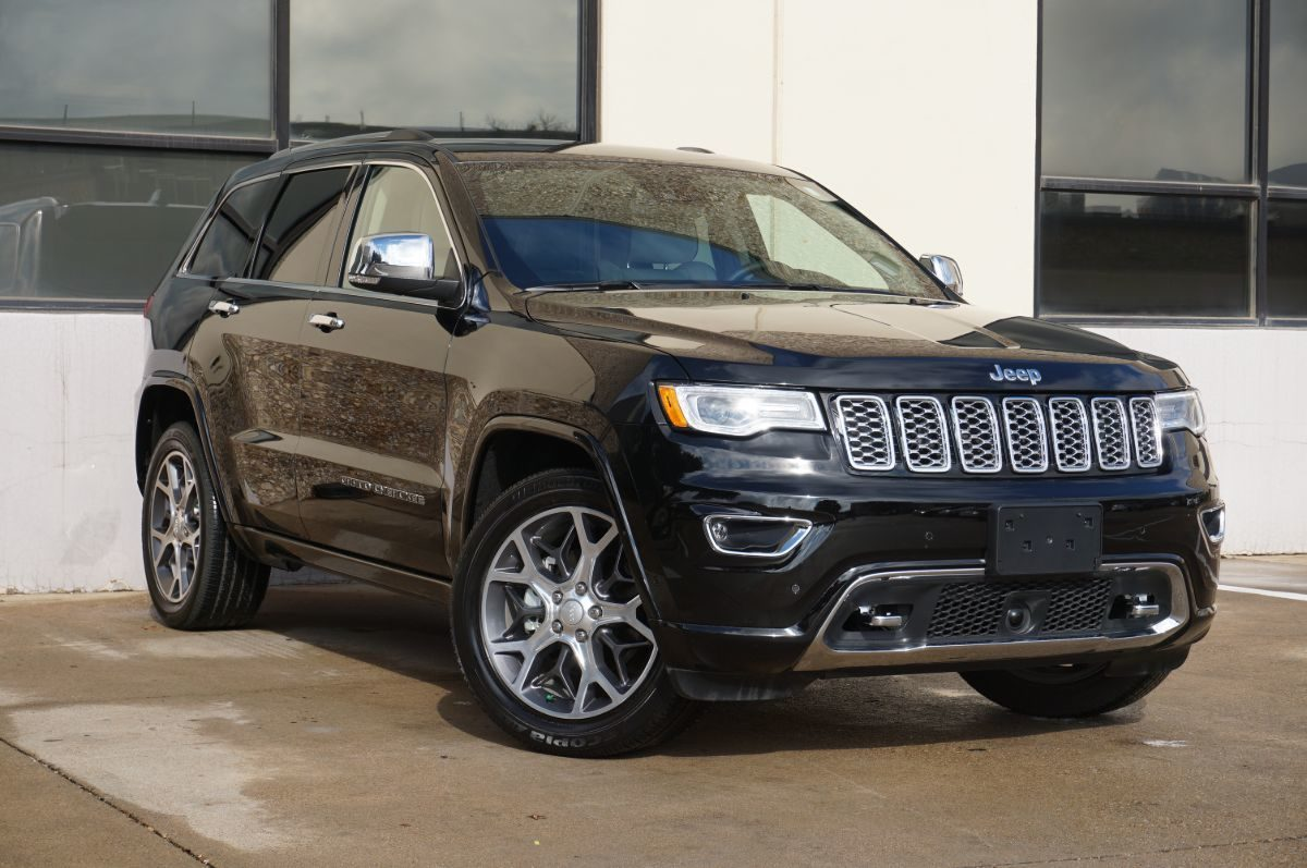 Sold 2019 Jeep Grand Cherokee Overland In Dallas
