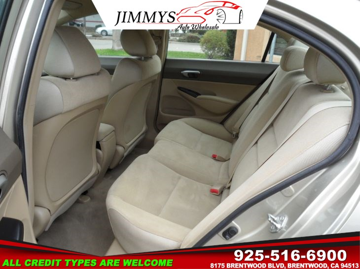 2008 Honda Civic Sdn LX - Jimmys Auto Wholesale