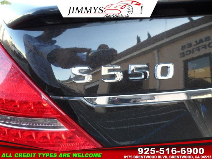 2011 Mercedes-Benz S 550 Sedan - Jimmys Auto Wholesale