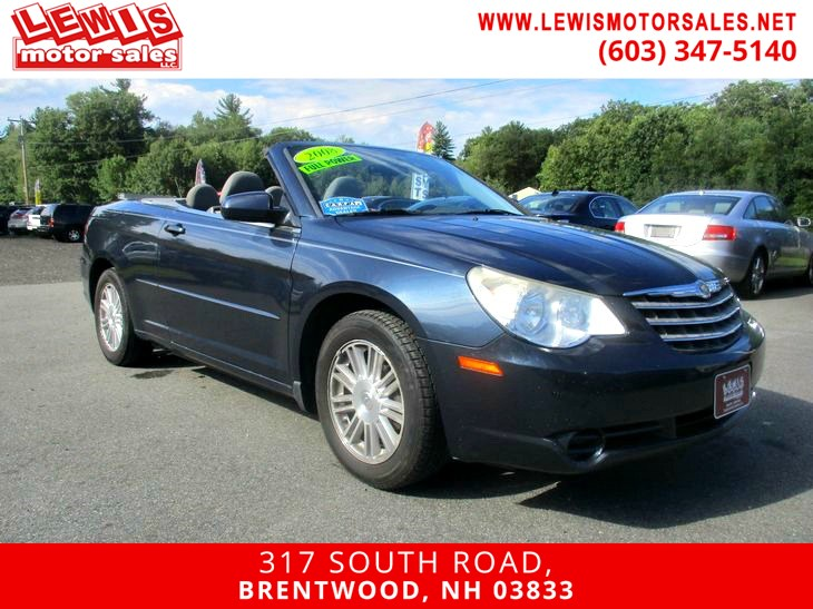 Sold 2008 Chrysler Sebring Touring Convertible In Brentwood