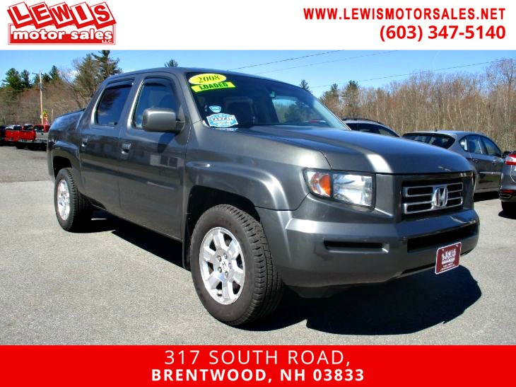 2008 Honda Ridgeline RTL Heated Leather