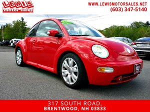 View 2003 Volkswagen New Beetle Coupe