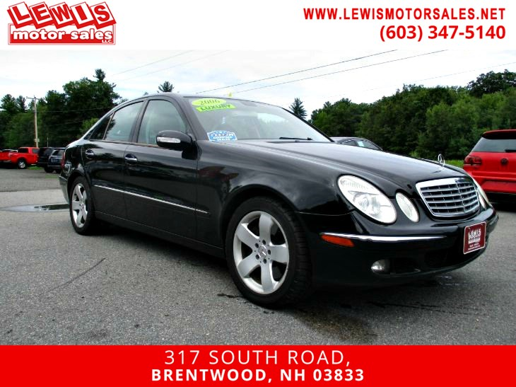 2006 Mercedes-Benz E500 4MATIC Sedan