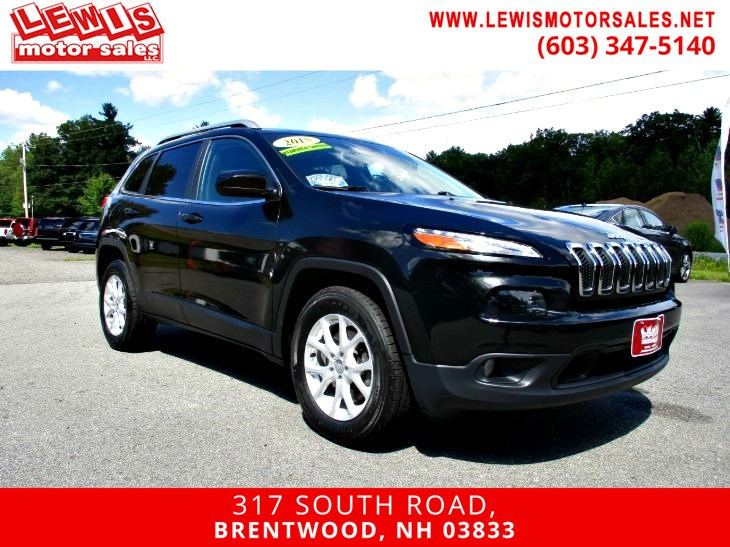 2015 Jeep Cherokee Latitude Back Up Cam 4WD