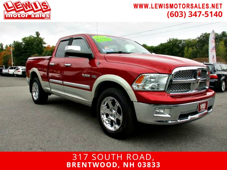 2010 Dodge Ram 1500 Laramie Heated And Cooled Leather