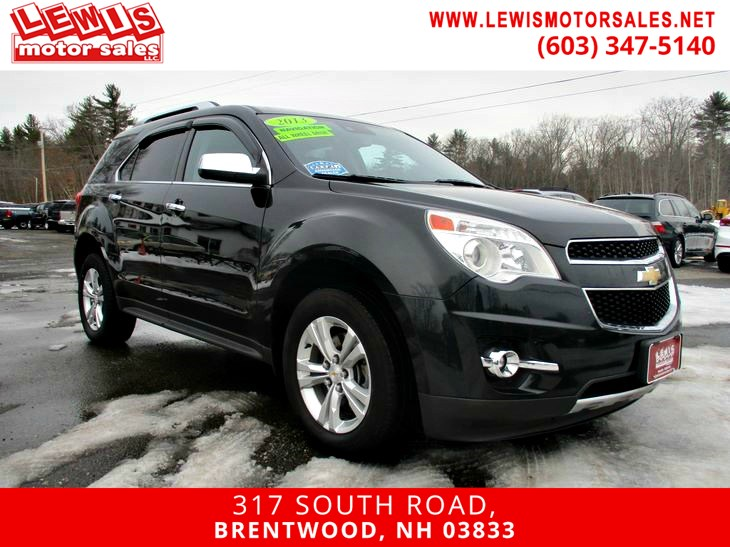 2013 Chevrolet Equinox LTZ Navigation Back Up Cam