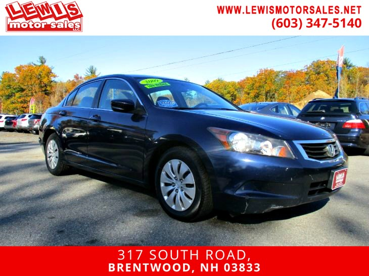 2009 Honda Accord Sdn LX Low Mileage Full Power