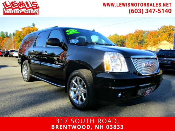 2007 GMC Yukon XL Denali Navigation DVD Back Up Cam