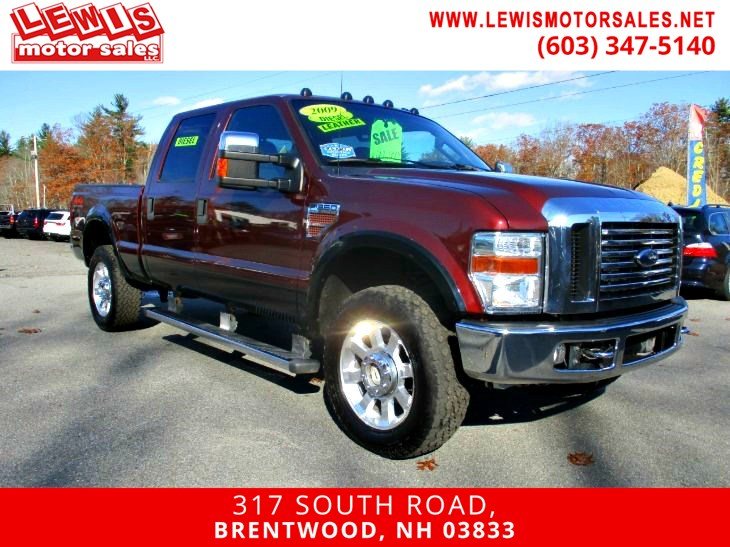 2009 Ford Super Duty F-350 SRW Lariat Powerstroke Loaded