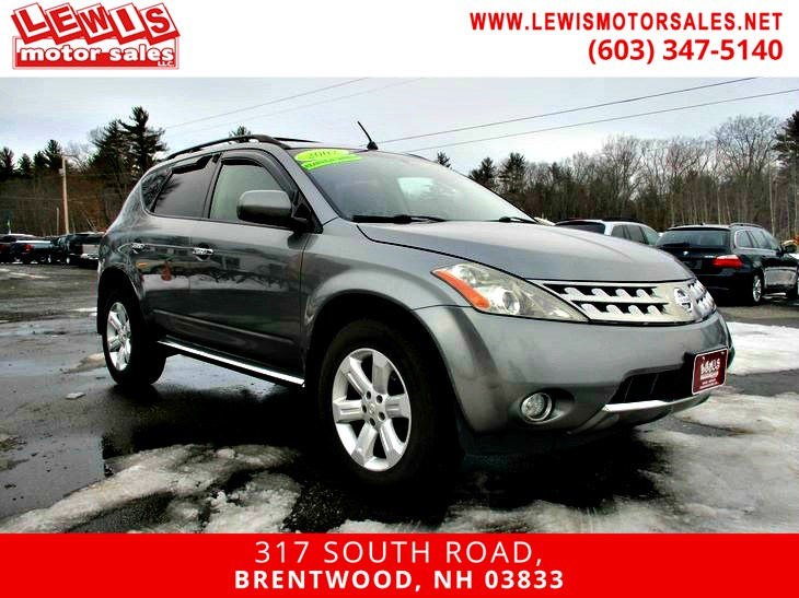 2007 Nissan Murano SL Heated Leather Moonroof
