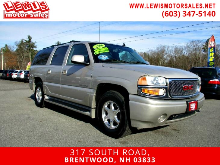 2006 GMC Yukon XL Denali Heated Leather NAV DVD
