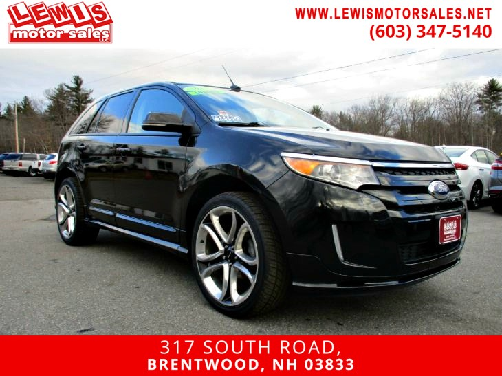 2013 Ford Edge Sport Heated Leather NAV