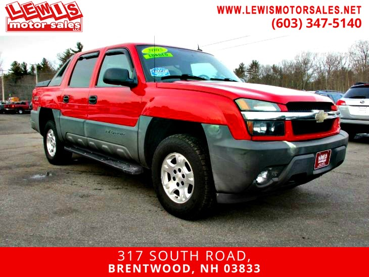 2005 Chevrolet Avalanche Z71 Bose Audio Power Seat