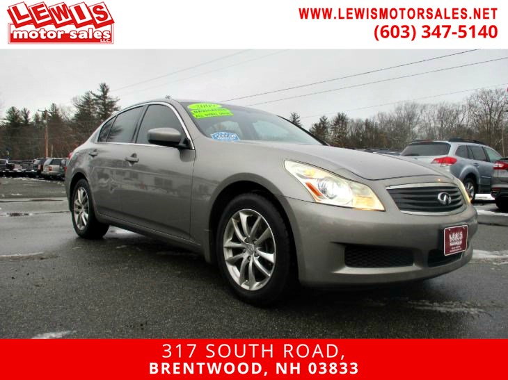 2009 INFINITI G37 Sedan X AWD Navigation