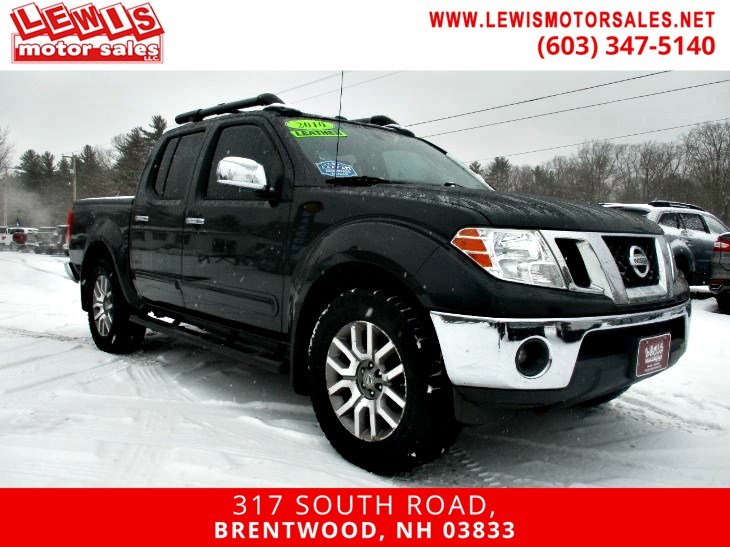 2010 Nissan Frontier LE Heated Leather 4x4
