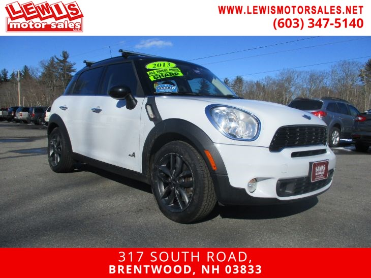 2013 MINI Cooper Countryman S ALL4 Heated Leather 6 Speed