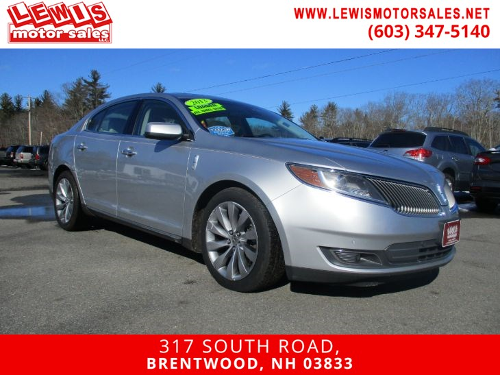 2013 Lincoln MKS Navigation HTD & CLD Leather