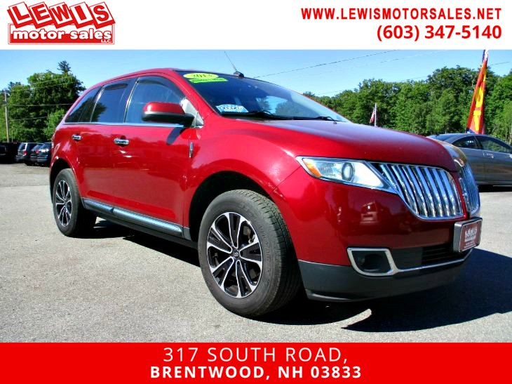 2013 Lincoln MKX Heated And Cooled Leather