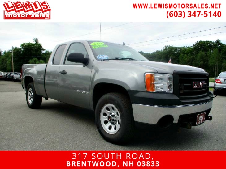 2009 GMC Sierra 1500 Work Truck 4x4 Low Miles