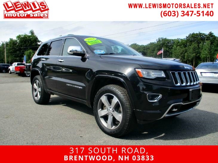2014 Jeep Grand Cherokee Overland Diesel Loaded!
