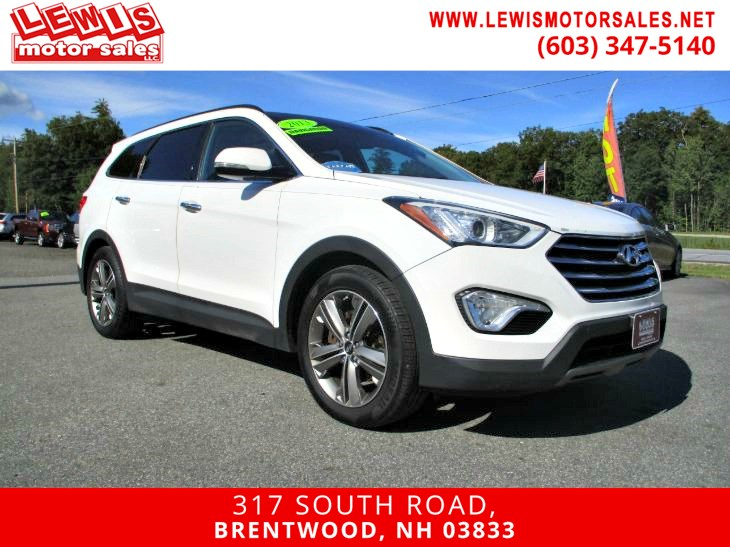 2013 Hyundai Santa Fe Limited Nav Panoramic Roof