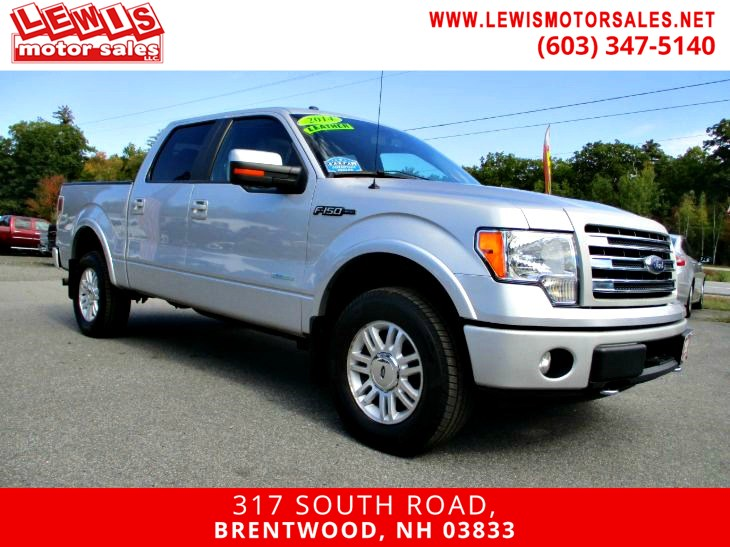 2014 Ford F-150 Lariat Ecoboost Fully Loaded!