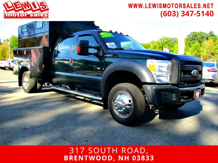 2011 Ford Super Duty F-450 DRW XL Utility Low Miles One Owner