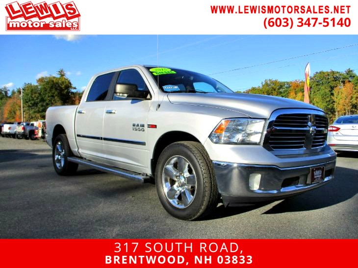 2015 Ram 1500 EcoDiesel Big Horn Navigation Back Up Cam
