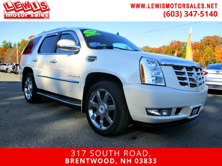 2009 Cadillac Escalade Heated And Cooled Leather NAV DVD
