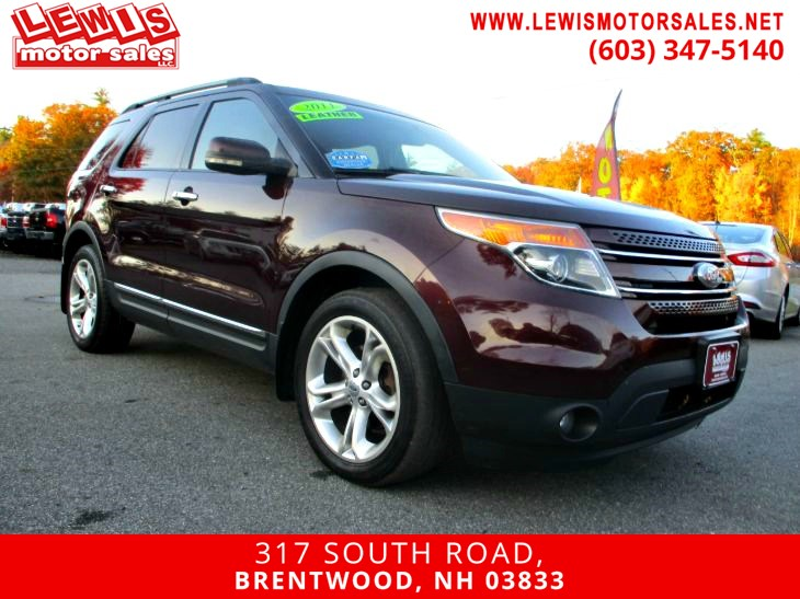2011 Ford Explorer Limited Fully Loaded!