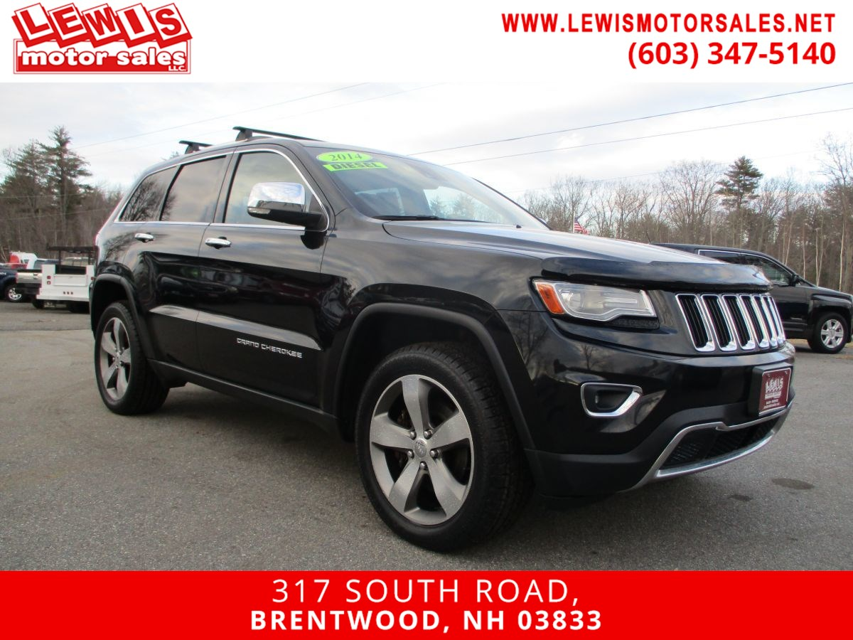 2014 Jeep Grand Cherokee Limited Fully Loaded!
