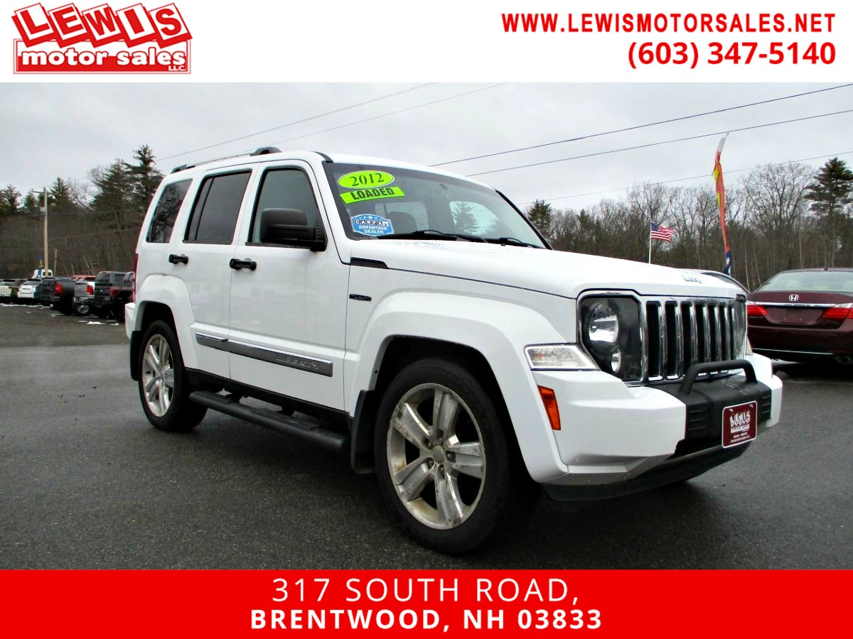 2012 Jeep Liberty Limited Jet Heated Leather Moonroof