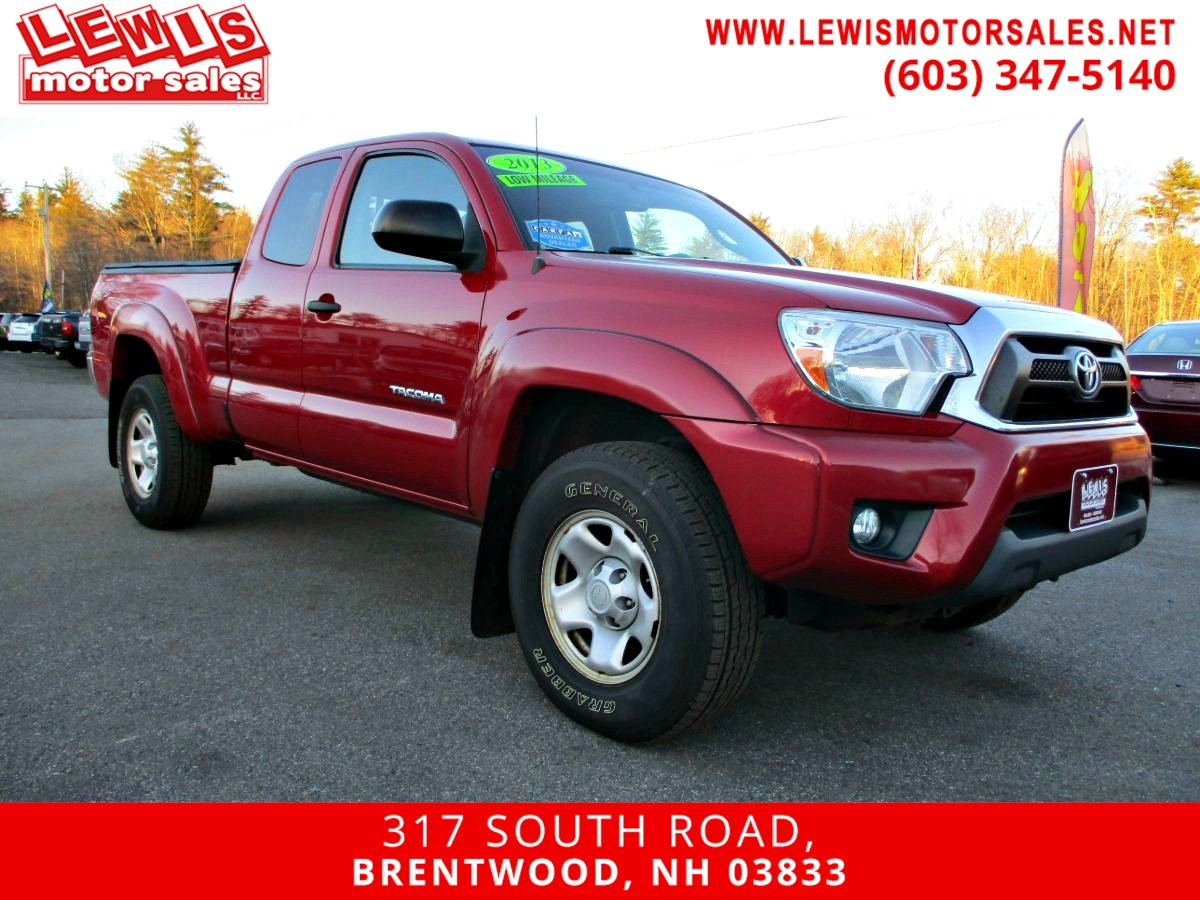 2013 Toyota Tacoma Full Power Back Up Cam 4x4