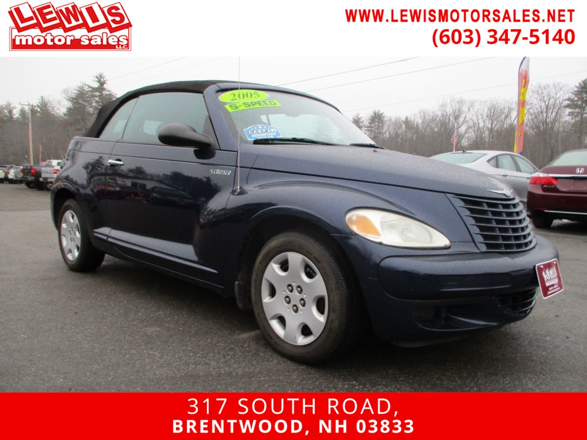 2005 Chrysler PT Cruiser Full Power Convertible