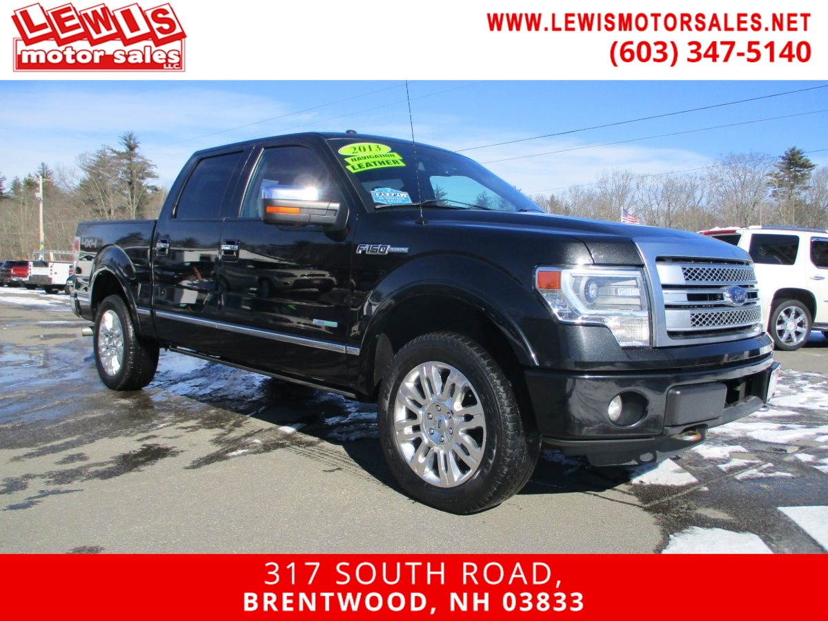 2013 Ford F-150 Platinum Fully Loaded