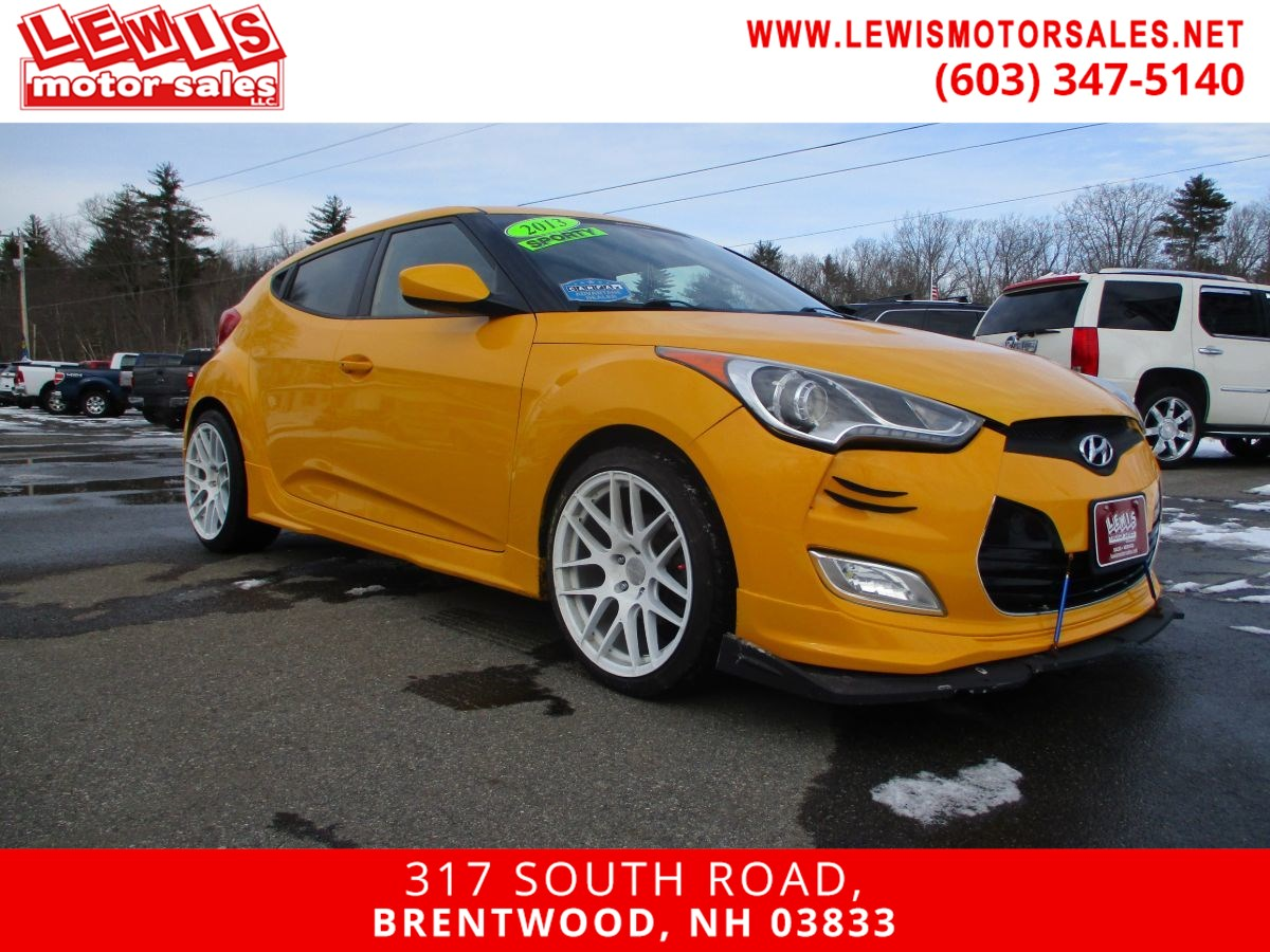 2013 Hyundai Veloster RE:MIX Extra Clean! Low Miles!