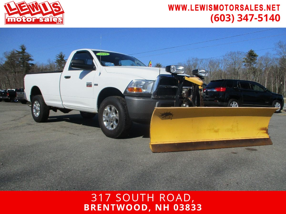 2010 Dodge Ram 2500 ST 3/4 Ton Hemi W 8'MM Plow