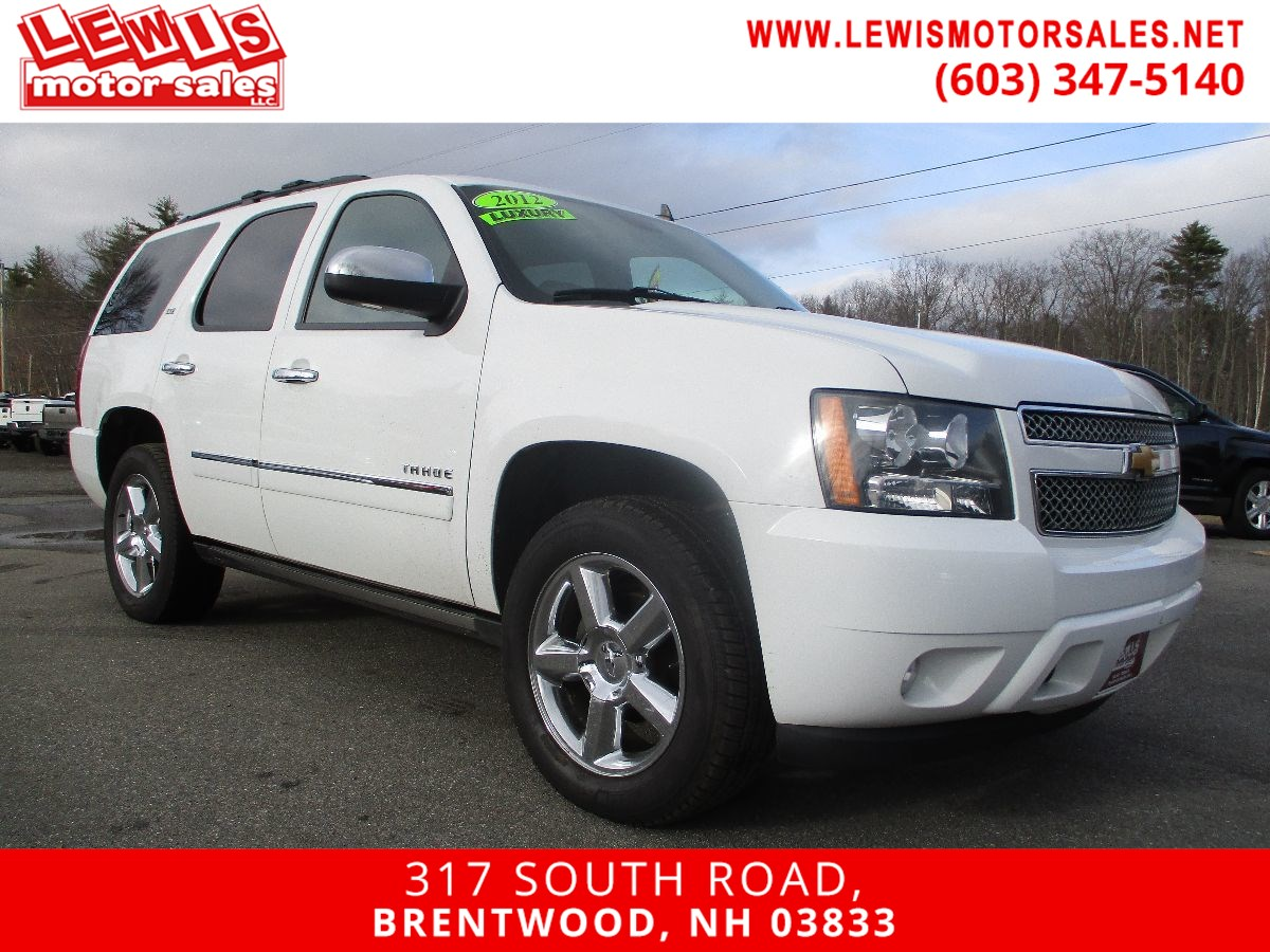 2012 Chevrolet Tahoe LTZ Fully Loaded Extra Clean!