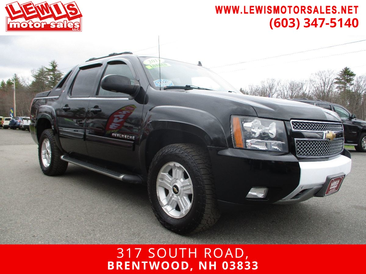 2011 Chevrolet Avalanche LT Z71 Heated Leather Moonroof
