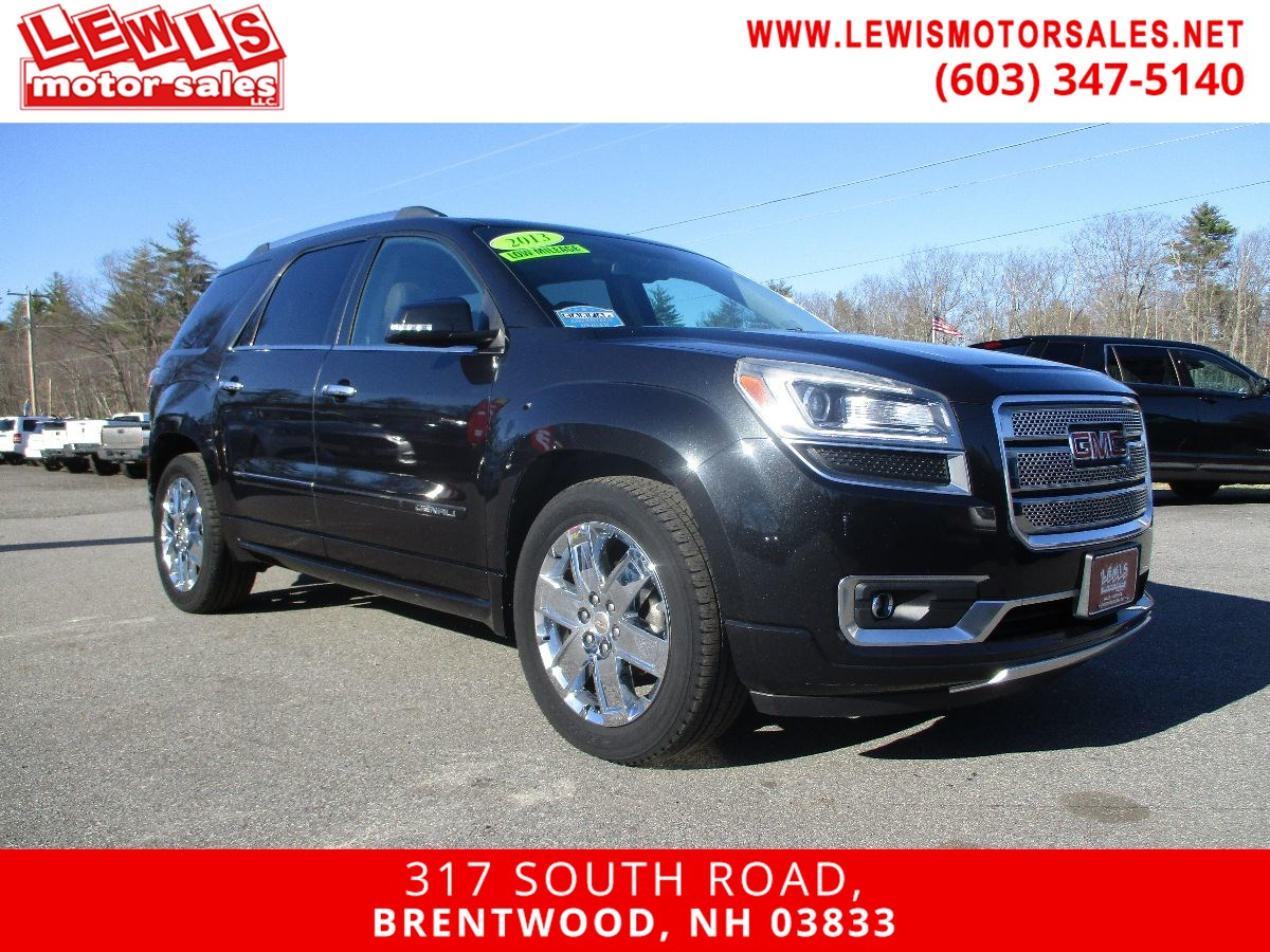 2013 GMC Acadia Denali Every Available Option!